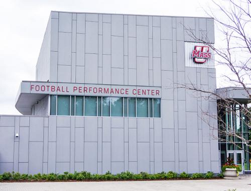 UMass Amherst - Football Performance Center